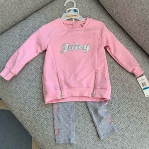 🎀NWT🎀 JUICY Couture Toddler Set